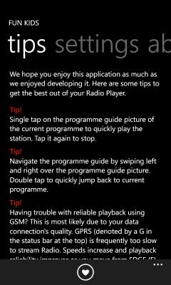 Fun Kids Radio Player | Igneous Software